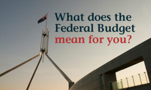What does the Federal Budget mean for you - 3